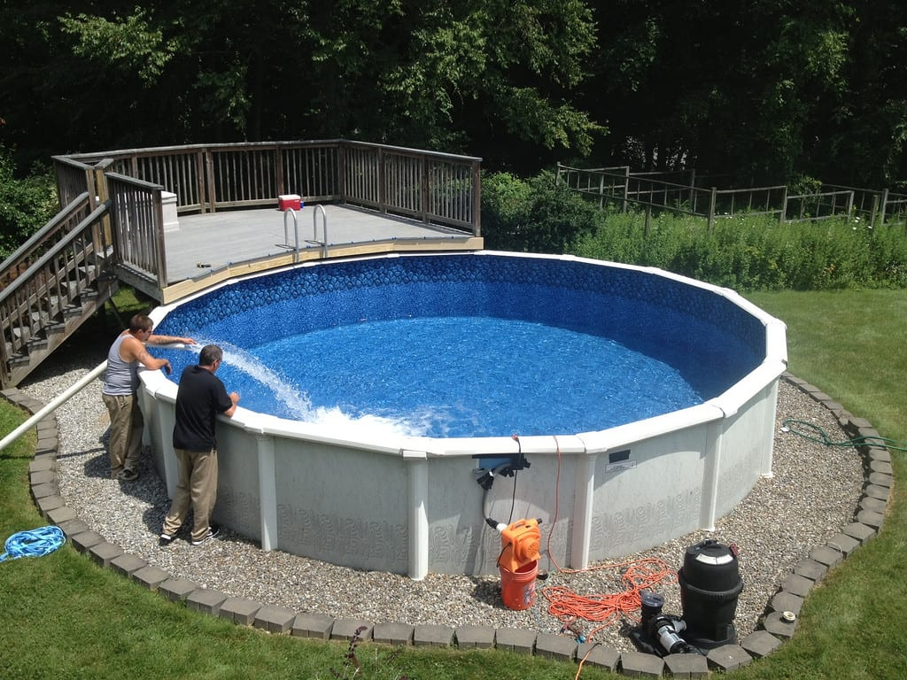 Landscaping Requirements for Above Ground Pools - Cincinnati Pool ...