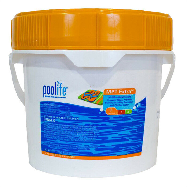 "POOLIFE MPT Extra 3"" Chlorine Tablets - 21lb LOCAL DELIVERY ONLY"