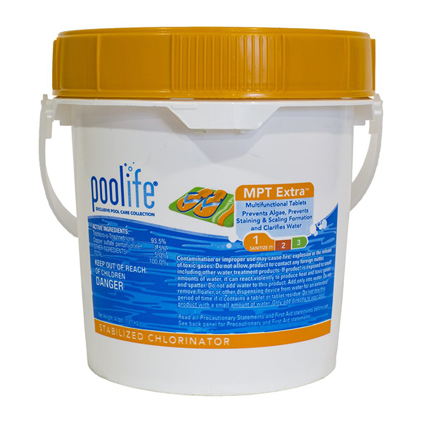 "POOLIFE MPT Extra 3"" Chlorinating Tablets - 4lb"