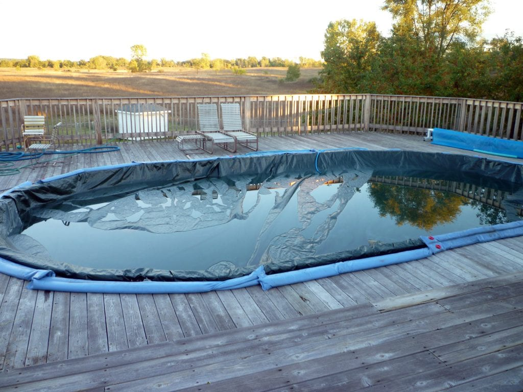 closing your pool