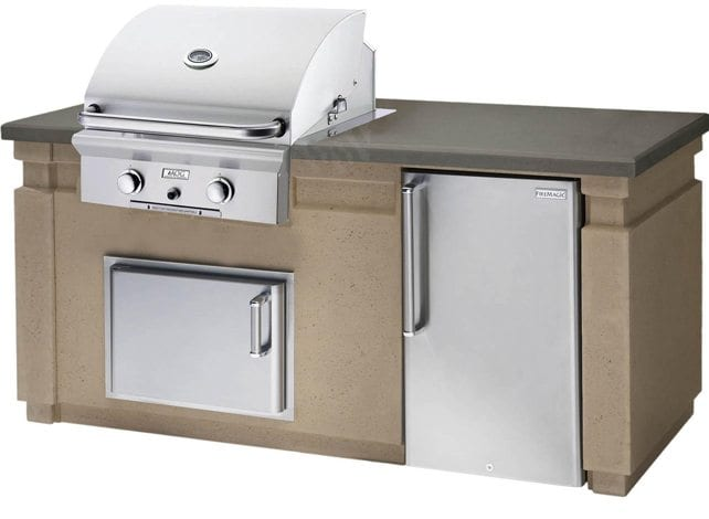grill with cupboard