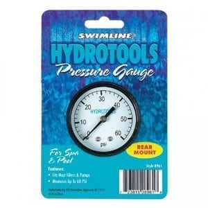 SWIM 8963 PRESSURE GAUGE/BACK MOUNT