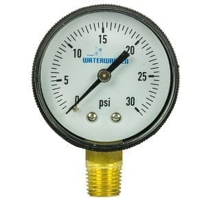 SWIM 8962 PRESSURE GAUGE/SIDE MOUNT