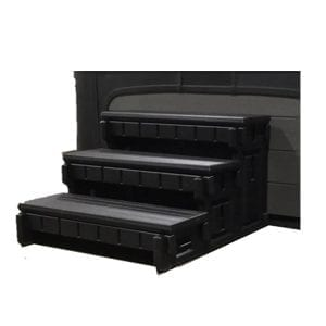 CONFER SPA STEP 36IN 3 TREAD ULTRA BLACK