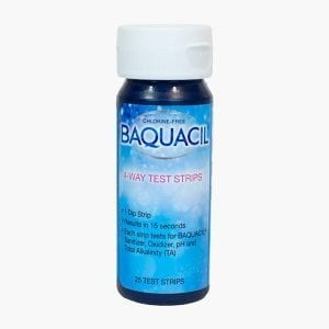 Baquacil 4-Way Test Strips - 25ct